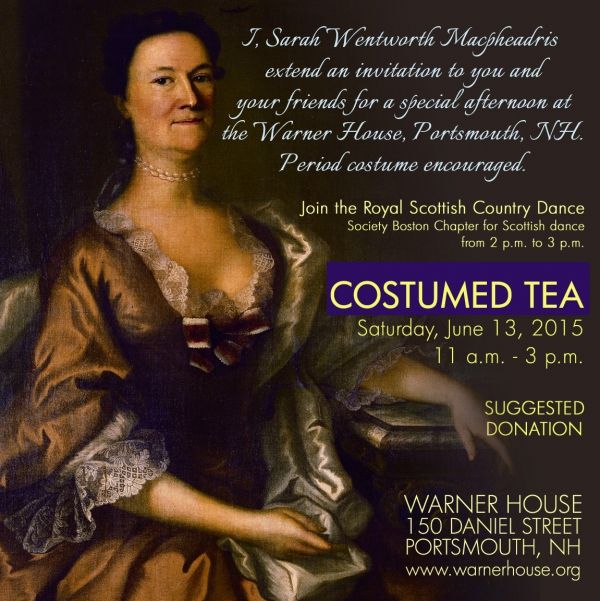Costumed Tea