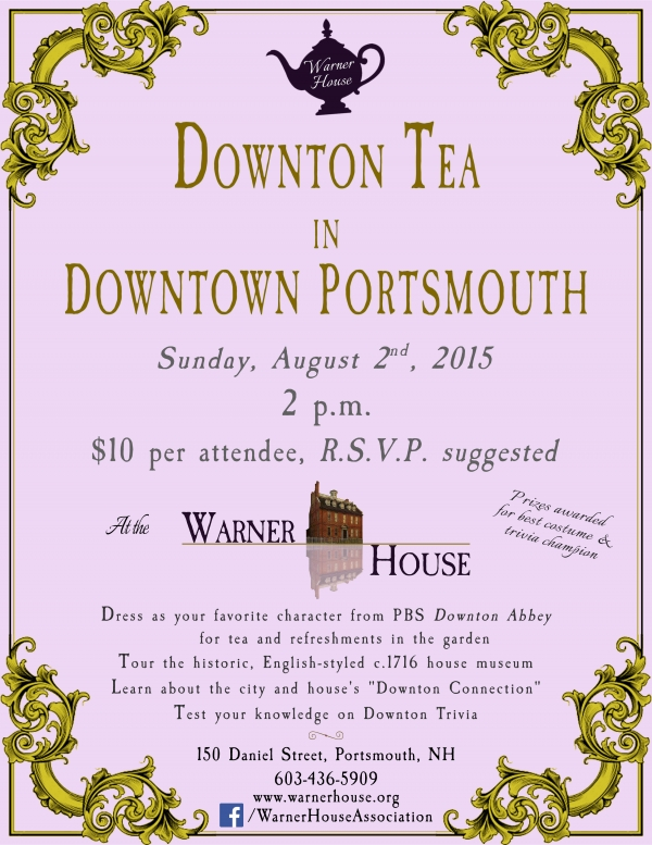 Downton Tea In Downtown Portsmouth